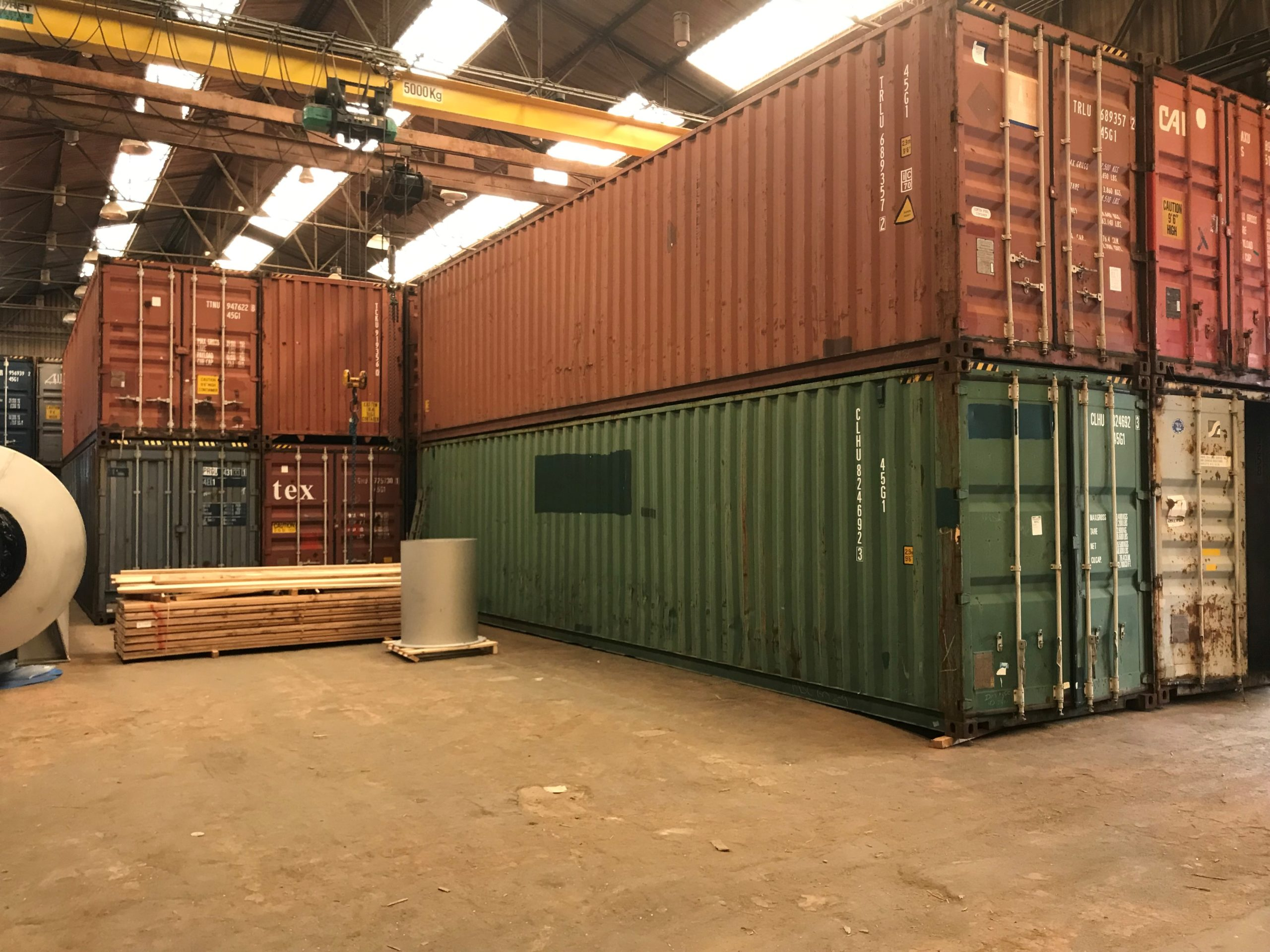 Container pour stockage